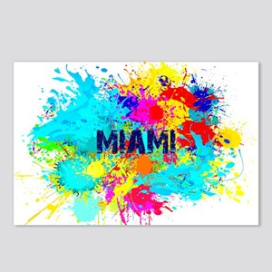 MIAMI BURST Postcards (Package of 8)