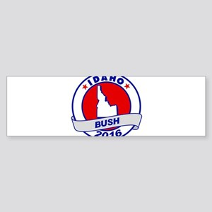 Idaho Jeb Bush 2016 Bumper Sticker
