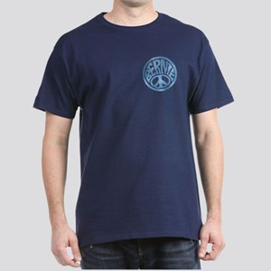 60s Peace Bernie Dark T-Shirt