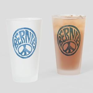 60s Peace Bernie Drinking Glass