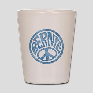 60s Peace Bernie Shot Glass