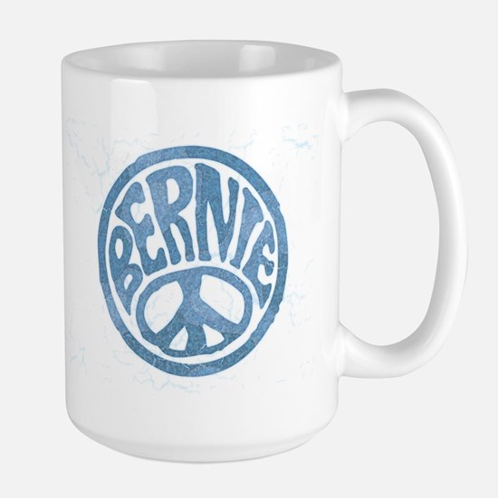 60s Peace Bernie Large Mug