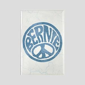 60s Peace Bernie Rectangle Magnet