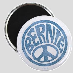 60s Peace Bernie Magnet