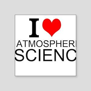 I Love Atmospheric Science Sticker