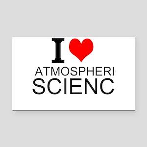 I Love Atmospheric Science Rectangle Car Magnet