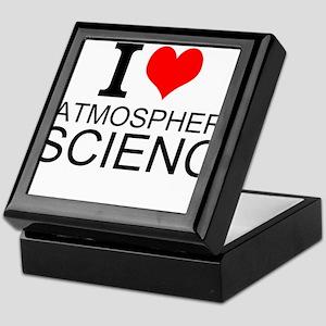 I Love Atmospheric Science Keepsake Box