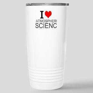 I Love Atmospheric Science Travel Mug