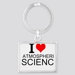 I Love Atmospheric Science Keychains