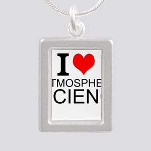I Love Atmospheric Science Necklaces