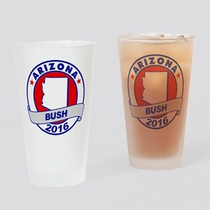 Arizona Jeb Bush 2016 Drinking Glass