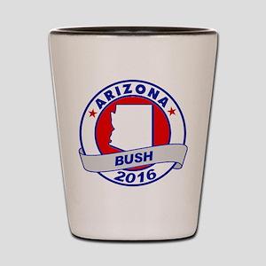 Arizona Jeb Bush 2016 Shot Glass