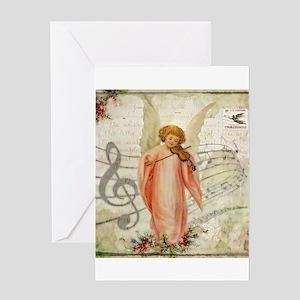 Vintage Christmas Angel Greeting Cards