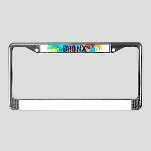 BRONX BURST License Plate Frame