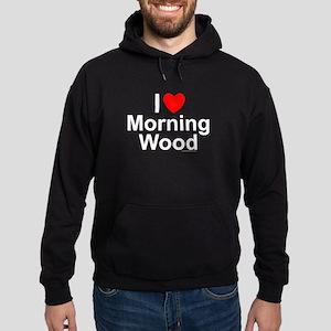 Morning Wood Hoodie (dark)