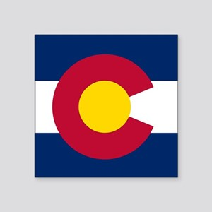 Colorado state flag Authentic in HD Sticker