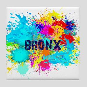 BRONX BURST Tile Coaster