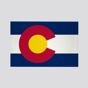 Colorado state flag Authentic in HD Magnets