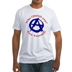 Anarchy-Free Yourself Fitted T-Shirt