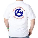 Anarchy-Free Yourself Golf Shirt