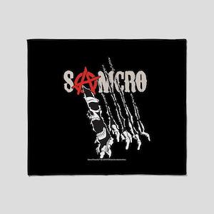 SOA SAMCRO Rip Throw Blanket