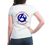 Anarchy-Free Yourself Jr. Ringer T-Shirt