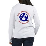Anarchy-Free Yourself Women's Long Sleeve T-Shirt