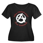 Anarchy-Free Yourself Women's Plus Size Scoop Neck