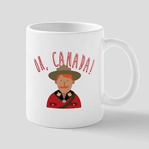 Oh Canada Mugs