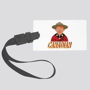 Canadian Luggage Tag