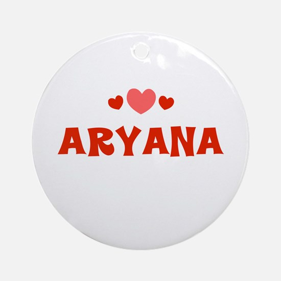 Aryana Ornament (Round)