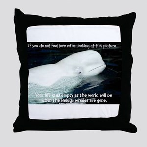 BELUGA Throw Pillow