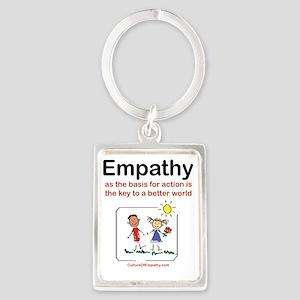 Empathy Portrait Keychain