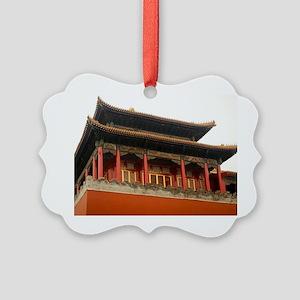 Forbidden City Building Picture Ornament