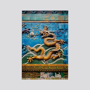 Dragon Wall Rectangle Magnet