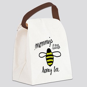 Mommy's Little Honey Bee Canvas Lunch Bag