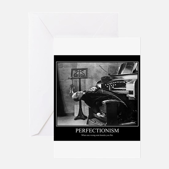 Perfectionism: Phantom of the Opera Greeting Cards