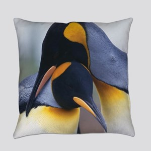 Penguins Everyday Pillow