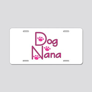 Dog Nana Aluminum License Plate