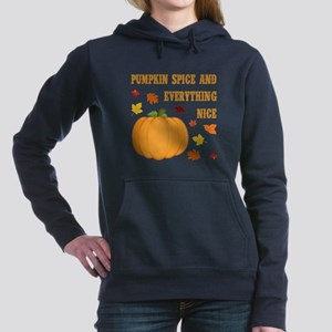 PUMPKIN SPICE Women's Hooded Sweatshirt