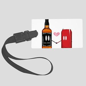 Jack and coke Large Luggage Tag