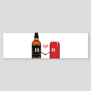 Jack and coke Bumper Sticker
