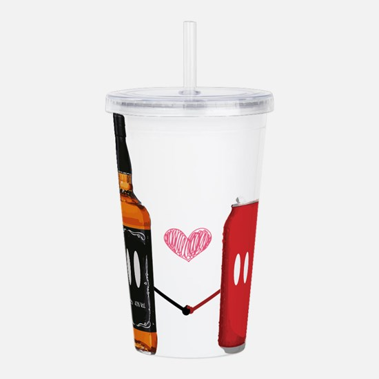 Jack and coke Acrylic Double-wall Tumbler