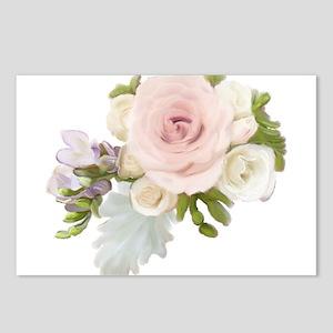 English Hybrid Tea Rose B Postcards (Package of 8)
