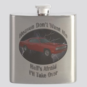 Plymouth Duster Flask