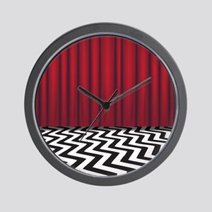 Black Lodge Twin Peaks Wall Clock