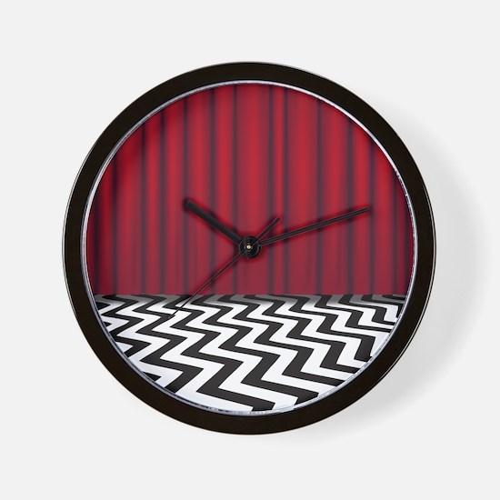 Black Lodge Twin Peaks Wall Clock