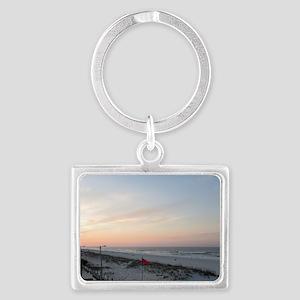 Gulf Shores Sunrise Landscape Keychain