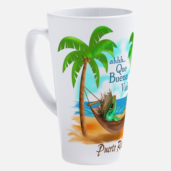Cute Juan 17 oz Latte Mug