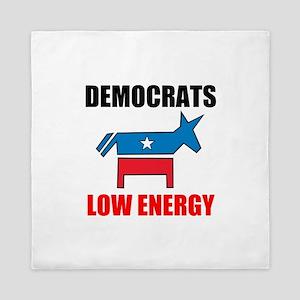 Democrats Low Energy Queen Duvet